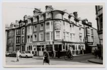 Central Hotel, Aberystwyth, yn y 1960au cynnar