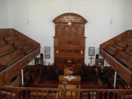 Tabernacle Chapel, Treharris - interior