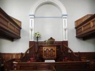 Tabor Chapel, Cefn Coed - interior