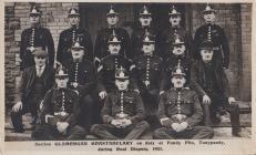 Glamorgan Constabulary 1921