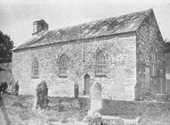 The 'new' chapel, Llangeitho, 1763