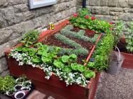VE day garden