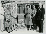 Opening of Ysgubor Hir at  Ynysgain   1982