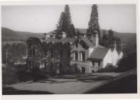 View of Broneirion from the side lawn