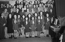 Girl Guides from Montgomeryshire
