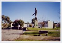 The memorial of Lewis Jones, Trelew