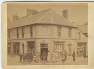 Pearce drapers shop Porthcawl, c1880