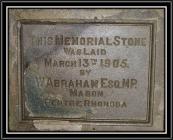 Memorial Stone 3