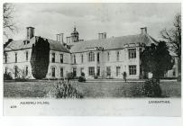 Esgob Palace Abergwili .