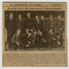 Bermuda Liner's Bell Boys Guests of Sidney...