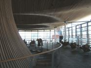 Welsh Assembly - looking along top floor above...