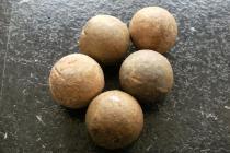 18th Century Musket balls.