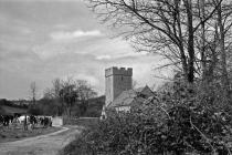 Merthyr Dyfan Church, 1980