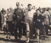 P.C.303 Edward Lewis, Porthcawl with Bob Hope...