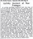 Colliery Accident at New Tredegar (Sept 20th 1902)