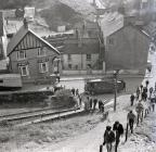 Fire on Constitution Hill, Aberystwyth, 8/9 Mar...