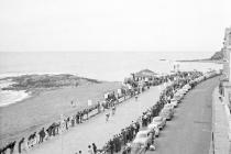 Milk Race 8 June 1964 - finishing line at...