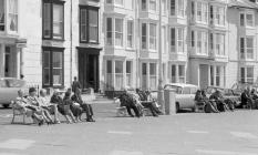 Aberystwyth seafront, June 1964.