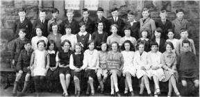 Penygelli Junior School, Coedpoeth 1930-31