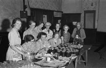 Members of Meifod Women's Institute...