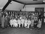 Chirk Women's Institute party