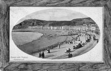 Beach & Parade Aberystwth c1910