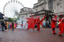 Cardiff Carnival 2009 - Here Be Dragons