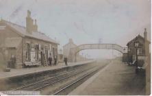 Brithdir Railway Station c1905