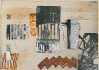 Collage based on images of St Non's chapel...