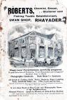 Rhayader Town brochure - 1910