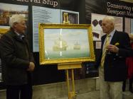The artist, Peter G Power discusses his painting