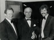 Roy Burnett, Raymond Ralph and David Watkins