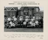 Newport v Carwyn James International XV 5/4/1975