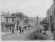 Castle Street Tredegar C 1900