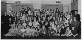 1953 Coronation party