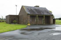 Old guard room, RAF St Athan, 2009