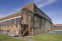 77 hanger at RAF St Athan, 2009