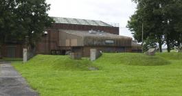 Air raid shelters outside CF Workshop, RAF St...