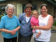 Photo of four generations of Rhayader Ladies,...