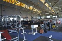 Gymnasium, fitness suite, RAF St Athan, 2009
