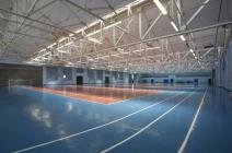 Gymnasium, running track, RAF ST Athan, 2009