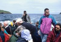 Skokholm - Various people on the Dale Princess...