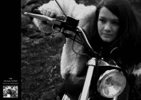 Marianne Faithful from the film Girl on a...