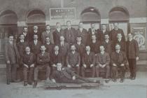 GWR First Aid training 1914