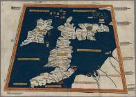 Prima Europe tabula (map) by Ptolemy