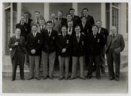 Newport RFC tour of Devon, 1953