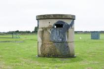 Sanger gun emplacement, RAF St Athan, 2009