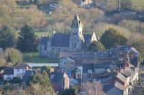 St Agatha's church clock