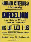 Poster for Comedy Act in Llanwrda Hall