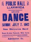 Poster of Llanwrda Dance